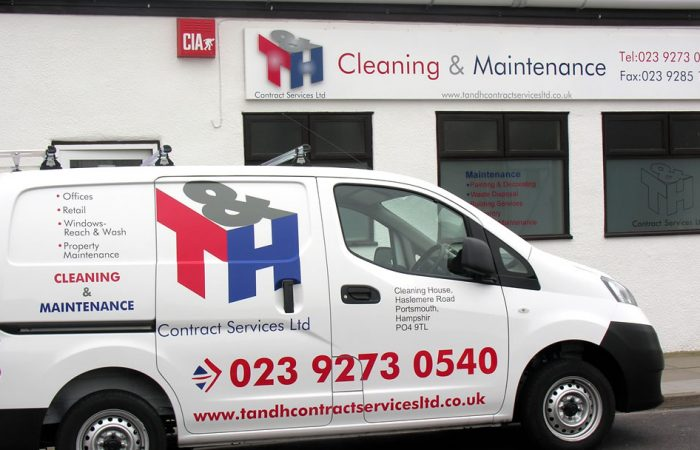 T&H Contract Services Ltd Van