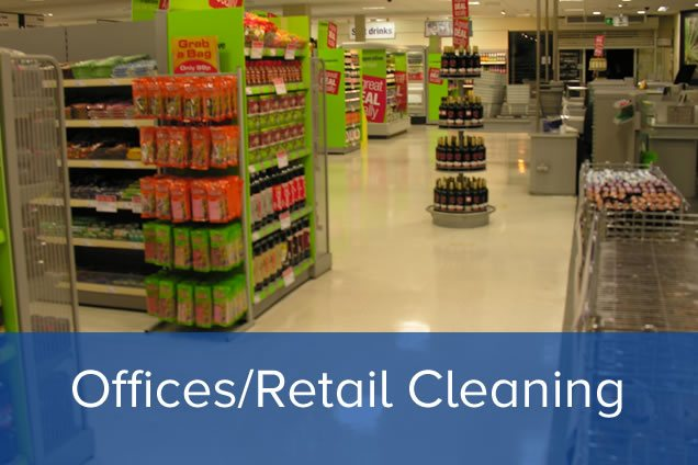 Offices and Retail Outlet Contract Cleaning