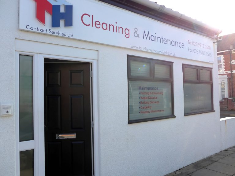 T&H Contract Services Ltd, Cleaning House, Haslemere Road, Southsea, Hampshire
