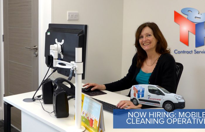NOW HIRING - MOBILE CLEANING OPERATIVE