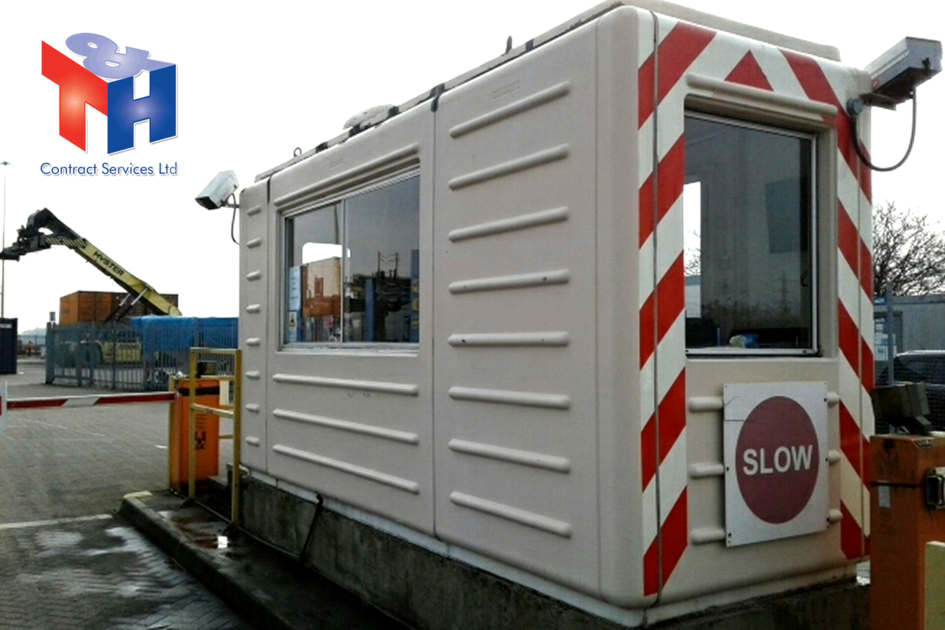 Portable Cabin Clean in Southampton Docks