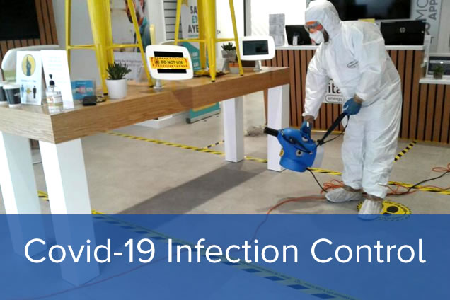 Covid-19 Infection Control Fogging Service