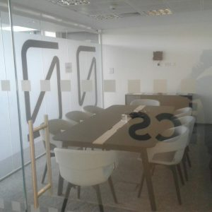 Photos of newly refurbished and cleaned office space in Basingstoke